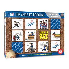 Officially Licensed MLB Licensed Memory Match Game - LA. Dodgers