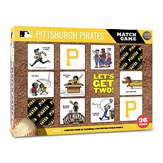 Officially Licensed MLB Licensed Memory Match Game - Pittsburgh