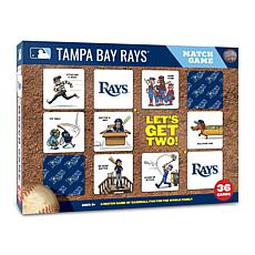 Officially Licensed MLB Licensed Memory Match Game - Tampa Bay Rays