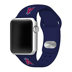Officially Licensed MLB Los Angeles Angels Apple Watchband - 38mm/4...