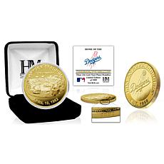 Officially Licensed MLB Los Angeles Dodgers Stadium Gold Mint Coin