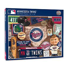 Officially Licensed MLB Minnesota Twins Retro Series 500-Piece Puzzle