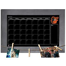 Officially Licensed MLB Monthly Chalkboard - Baltimore Orioles