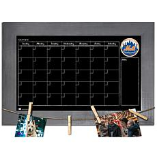 Officially Licensed MLB Monthly Chalkboard - New York Mets