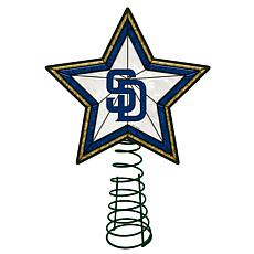 Officially Licensed MLB Mosaic Tree Topper - Padres