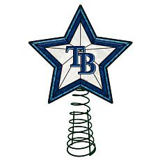 Officially Licensed MLB Mosaic Tree Topper - Rays