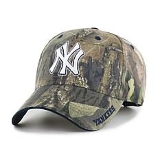 Officially Licensed MLB Mossy Oak Adjustable Hat  - New York Yankees