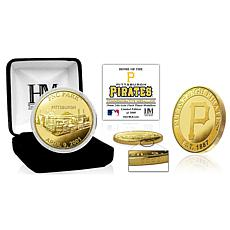 Officially Licensed MLB Pittsburgh Pirates Stadium Gold Mint Coin