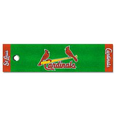Officially Licensed MLB Putting Green Mat  - St. Louis Cardinals