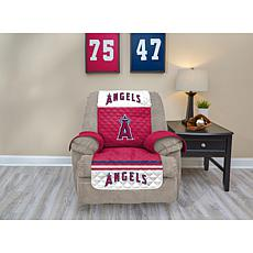 Officially Licensed MLB  Recliner Furniture Protector - Angels