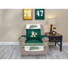 Officially Licensed MLB  Recliner Furniture Protector - Athletics