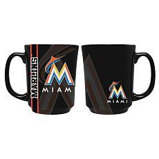 Officially Licensed MLB Reflective Mug - Miami Marlins