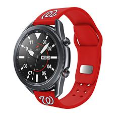 Officially Licensed MLB Silicone Sports Band for Samsung Watch-Wash.