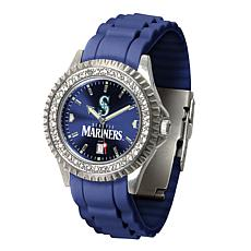 Officially Licensed MLB Sparkle Series Watch - Seattle Mariners