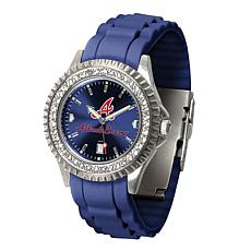 Officially Licensed MLB Sparkle Series Women's Watch - Atlanta Braves