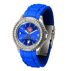 Officially Licensed MLB Sparkle Series Women's Watch - Chicago Cubs