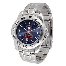 Officially Licensed MLB Sport Steel Series Watch - Houston Astros