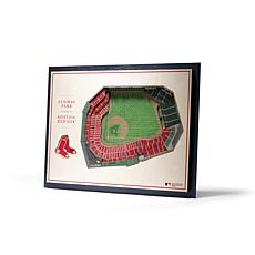 Officially Licensed MLB StadiumView 3D Wall Art - Boston Red Sox