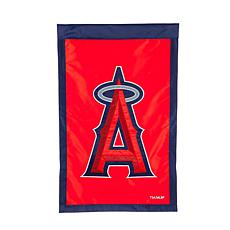 Officially Licensed MLB Team Logo House Flag - Los Angeles Angels