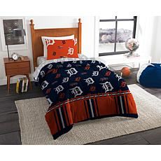 Officially Licensed MLB Twin Bed in a Bag Set - Detroit Tigers