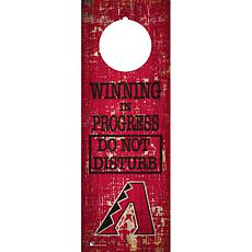 Officially Licensed MLB Wood Door Hanger