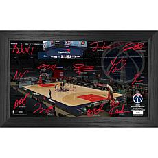 Officially Licensed NBA 2021 Signature Court - Washington Wizards