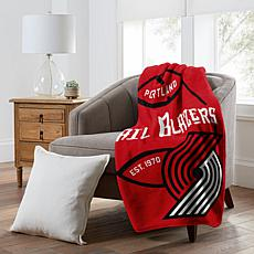 Officially Licensed NBA  Black Top Raschel - Portland Trailblazers