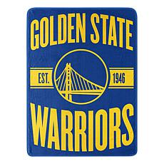 Officially Licensed NBA Clear Out Micro Raschel Throw Blanket-Warri...
