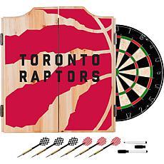 Officially Licensed NBA Dart Cabinet Set - Fade - Toronto Raptors