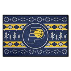 Officially Licensed NBA Holiday Sweater Starter Mat- Indiana Pacers