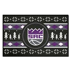 Officially Licensed NBA Holiday Sweater Starter Mat- Sacramento Kings