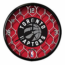 Officially Licensed NBA Net Clock - Toronto Raptors