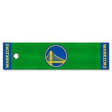 Officially Licensed NBA Putting Green Mat  - Golden State Warriors