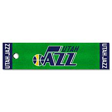 Officially Licensed NBA Putting Green Mat  - Utah Jazz