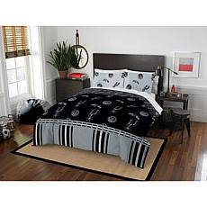 Officially Licensed NBA Queen Bed in a Bag Set - San Antonio Spurs
