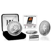 Officially Licensed NBA Silver Mint Coin - Phoenix Suns