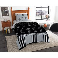 Officially Licensed NBA Twin Bed in a Bag Set - Antonio Spurs