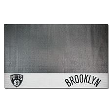 Officially Licensed NBA Vinyl Grill Mat  - Brooklyn Nets