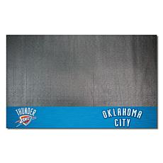 Officially Licensed NBA Vinyl Grill Mat  - Oklahoma City Thunder