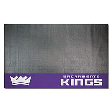 Officially Licensed NBA Vinyl Grill Mat  - Sacramento Kings