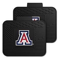 Officially Licensed NCAA  2-pc Heavy Duty Vinyl Mat Set-Un. of Arizona