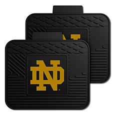 Officially Licensed NCAA  2pc Heavy Duty Vinyl Mat Set - Notre Dame