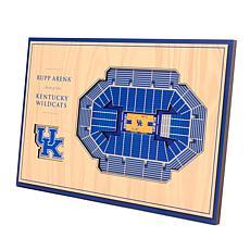 Officially Licensed NCAA 3-D Desktop Display - Kentucky Wildcats