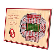 Officially Licensed NCAA 3-D Desktop Display - Oklahoma Sooners