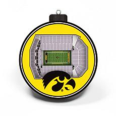 Officially Licensed NCAA 3D StadiumView Ornament 2-pack - Iowa