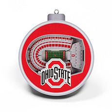Officially Licensed NCAA 3D StadiumView Ornament 2-pack - Ohio State