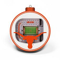 Officially Licensed NCAA 3D StadiumView Ornament 2-pack - Texas