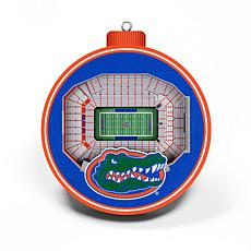 Officially Licensed NCAA 3D StadiumView Ornament 2-pack - Florida