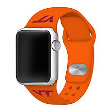 Officially Licensed NCAA 42/44mm OR Silicone Apple Watch Band - Hokies