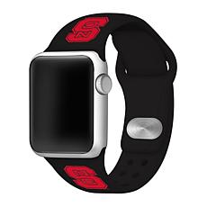 Officially Licensed NCAA 42/44mm Silicone Apple Watch Band - NC State